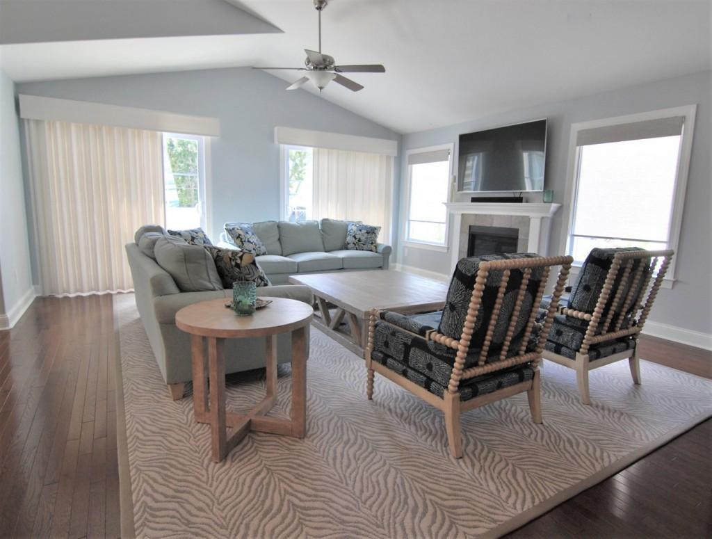beach living area