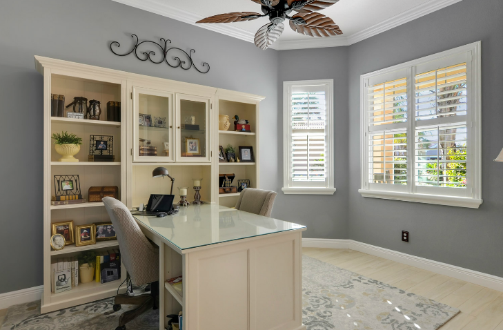 Ballard office pennisula | Wimauma FL | Distinctive Interior Designs