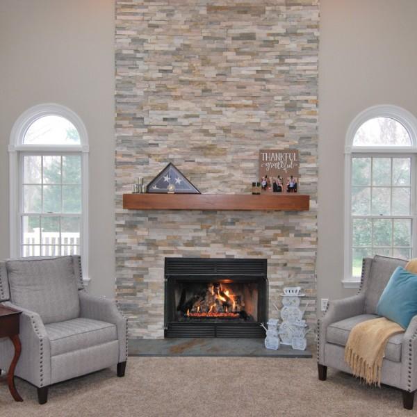Medford Interior Design Refresh Family Room | Medford NJ | Distinctive Interior Designs