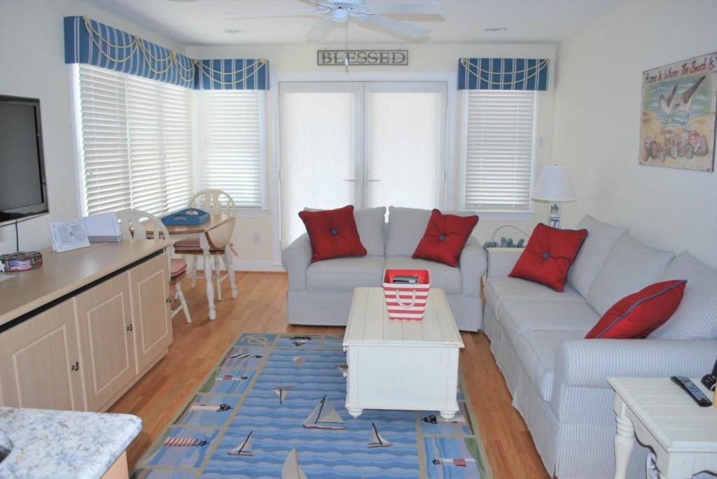 Nautical Beach House Den