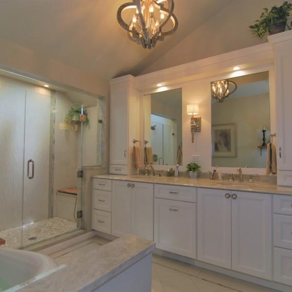Best Spa Master Bath Design | Marlton NJ | Distinctive Interior Designs