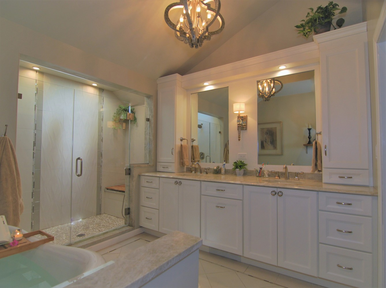 Best Spa Master Bath Design | Marlton NJ | Distinctive Interior Designs