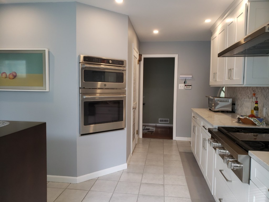 Double oven after reno