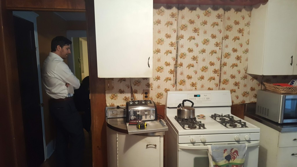 1920s collingswood kitchen oven area