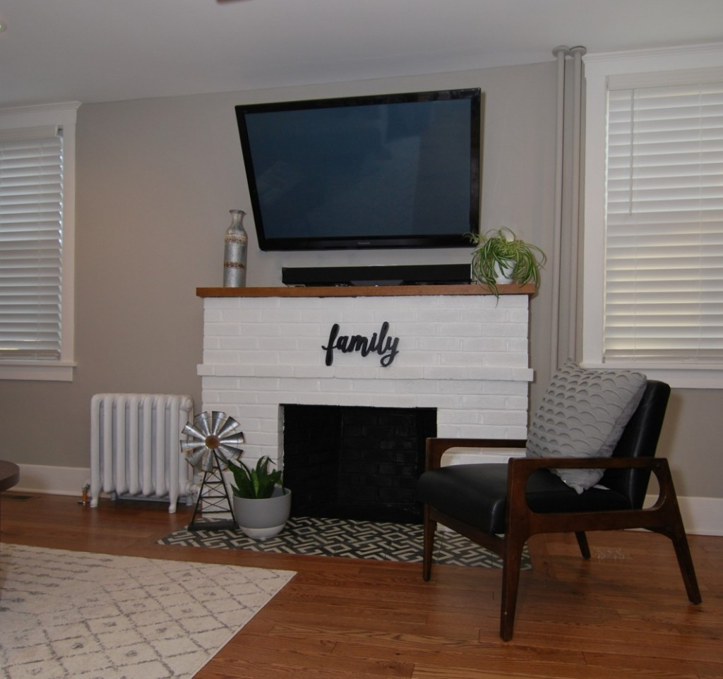 New look for fireplace