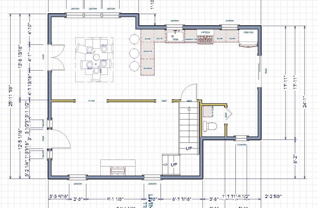 Working floor plan