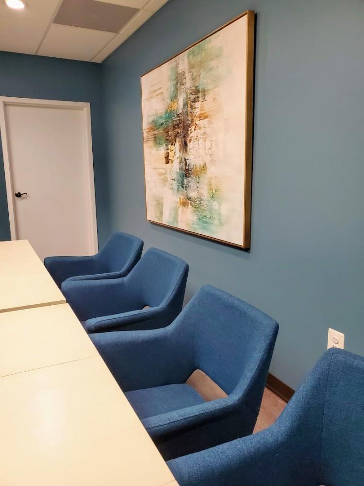 Houzz ID 144761487 ARTeFAC teal chair