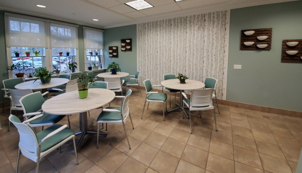 New Solarium look for Parker at Stonegate