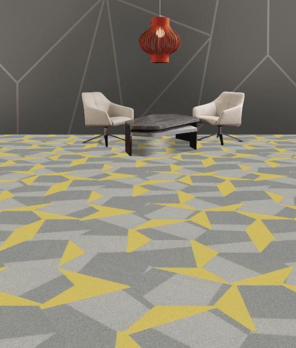 Shaw Hexagon carpet tile