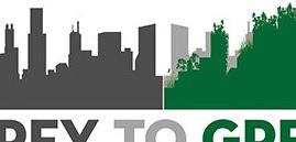 grey green logo example