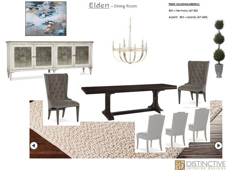 Dining Room Design Deck