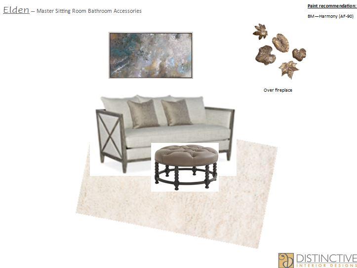 Master Sitting Room Design Deck