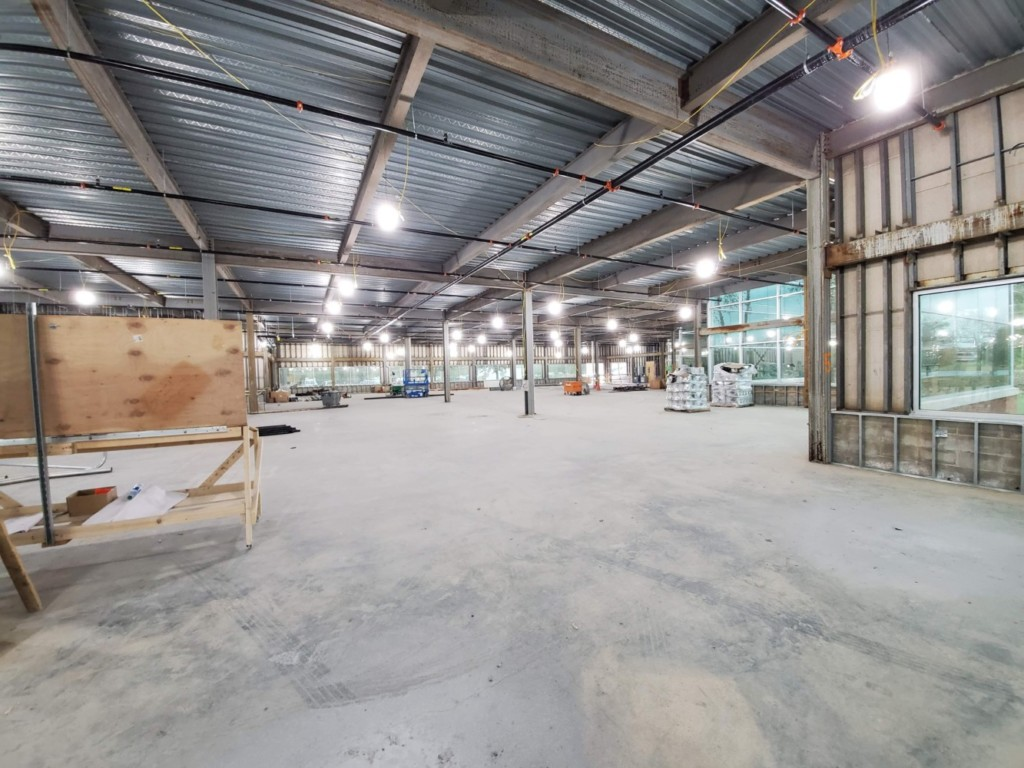 Rocket Open Space Prior to Fit Out