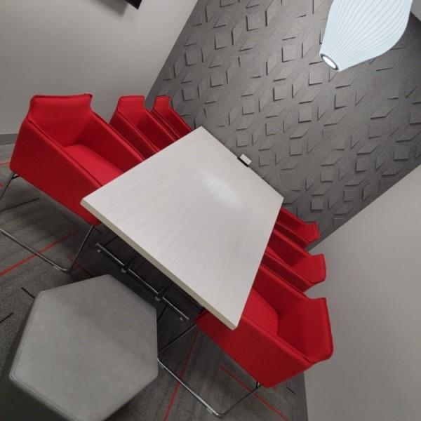 Rocket Huddle Room | Distinctive Interior Designs | Cranbury NJ