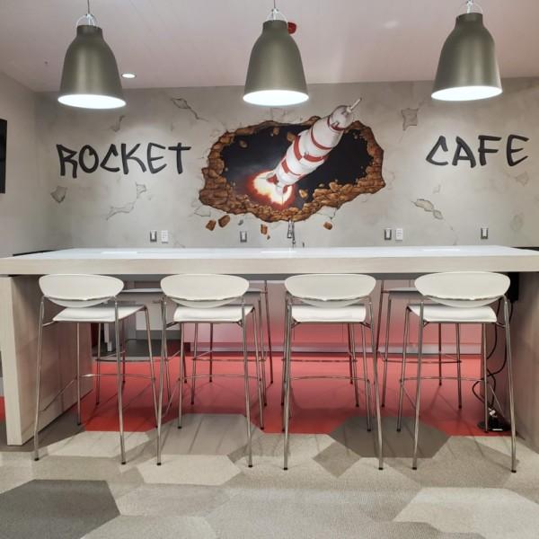 Rocket Cafe | Distinctive Interior Designs | Cranbury NJ