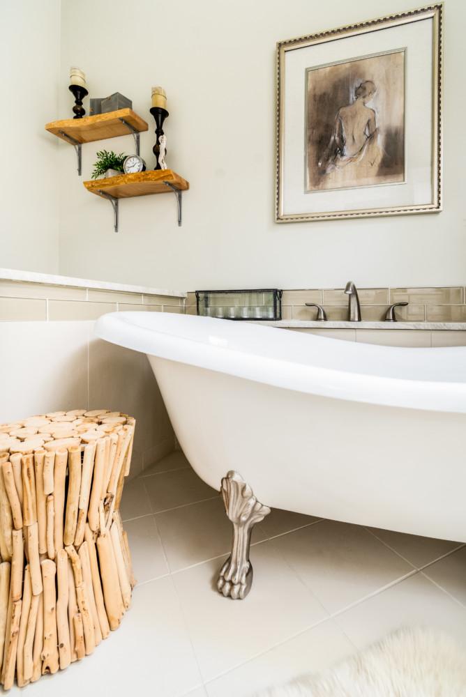 Spa Bath Freestanding claw foot tub
