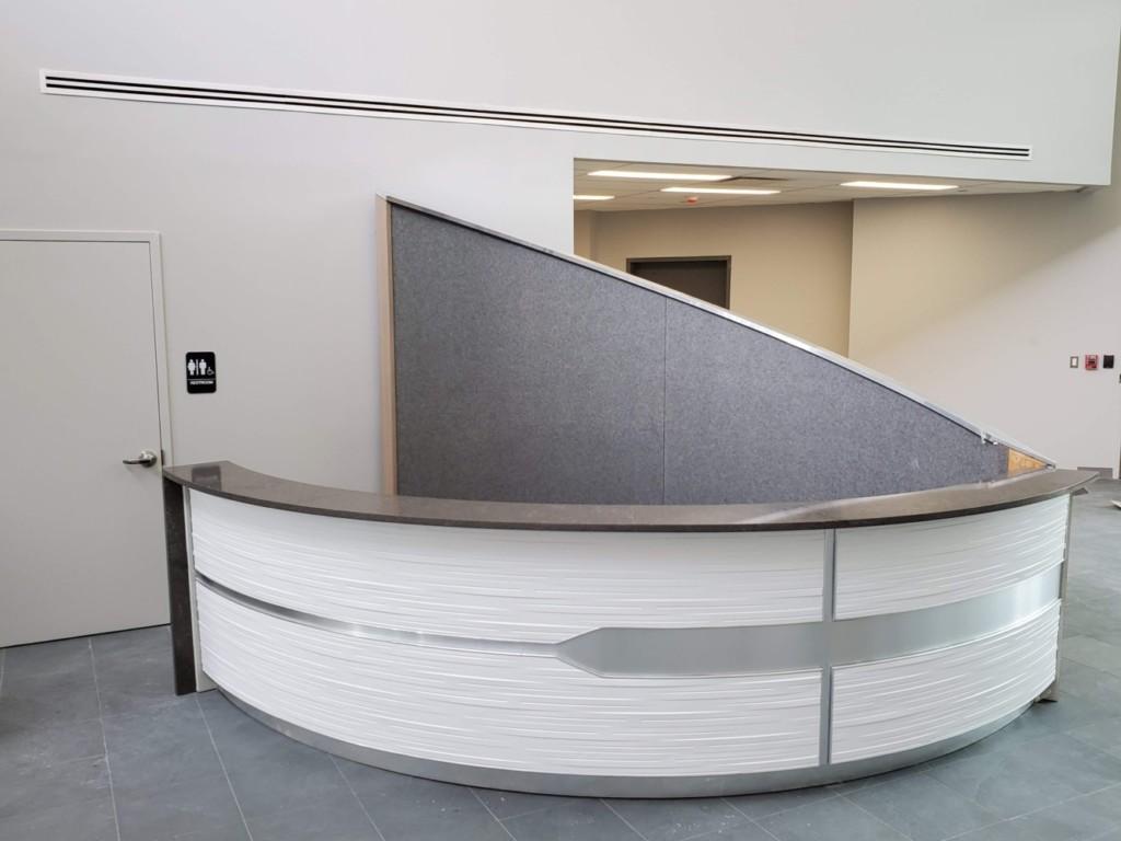 Rocket Custom Lobby Desk