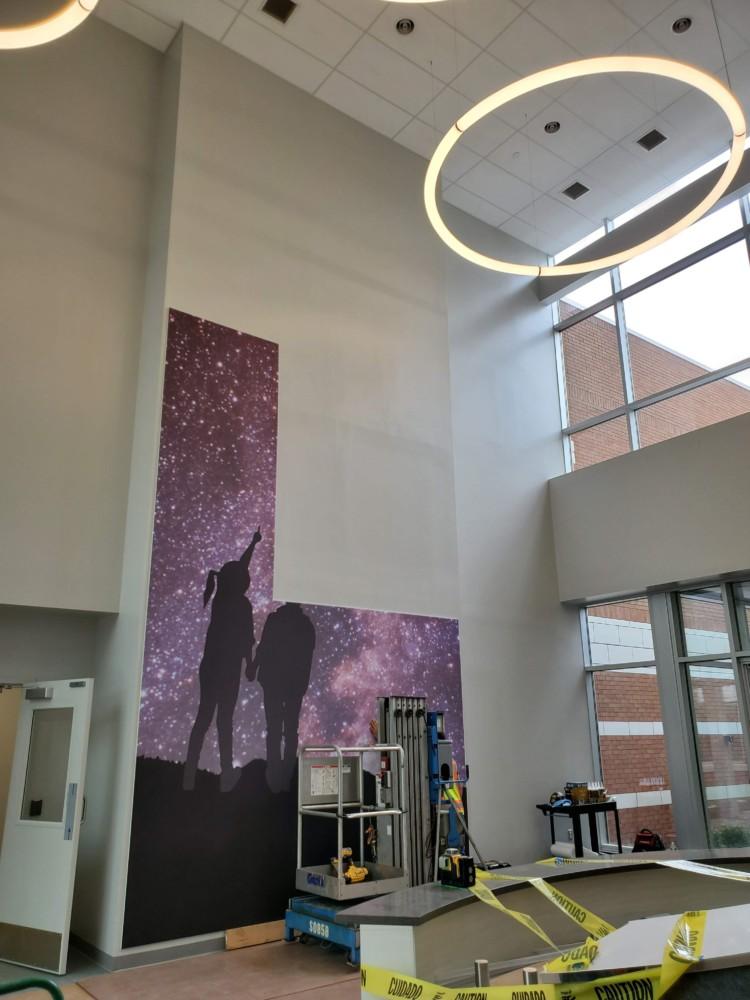 Rocket Lobby Art in process (more)