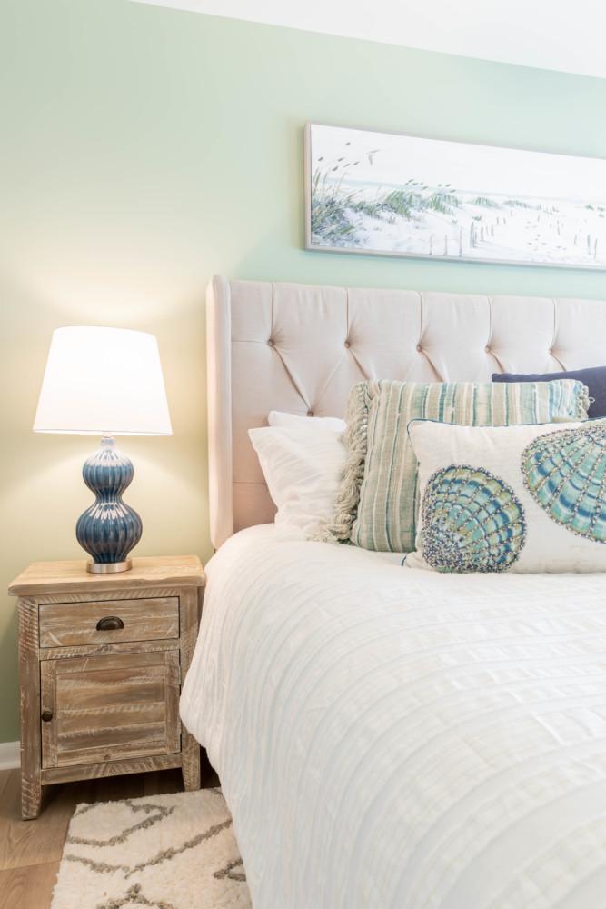 Cape May Condo Master Bedroom