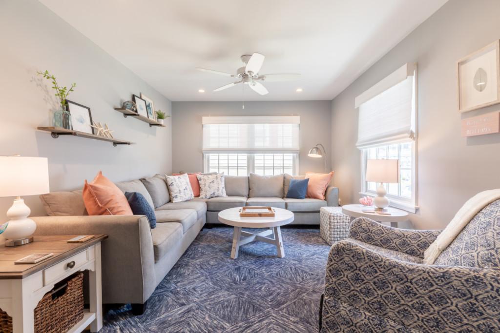 Cape May Condo Living Room