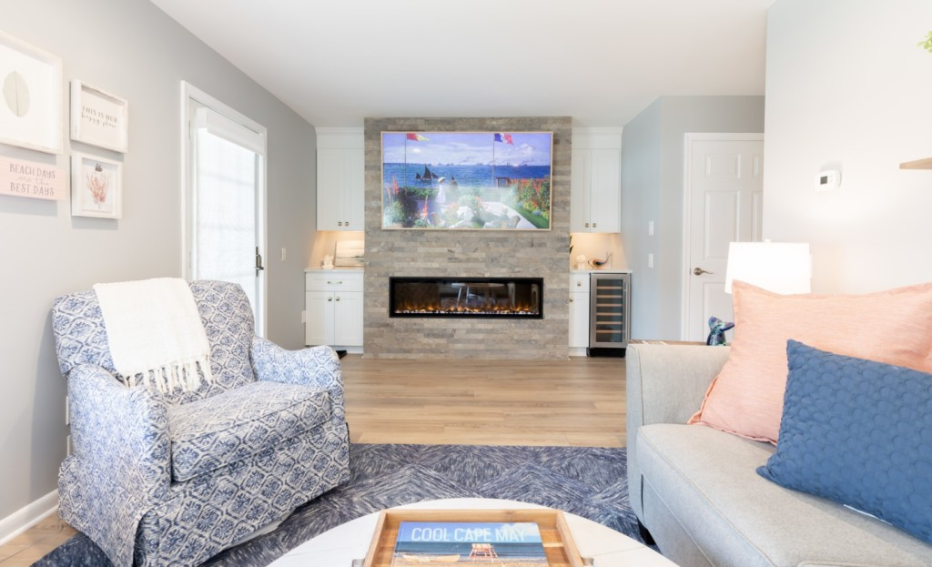 Cape May Living Room Electric Fireplace