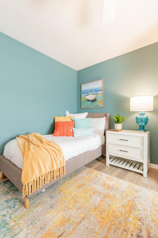 Cape May Condo Guest Bedroom