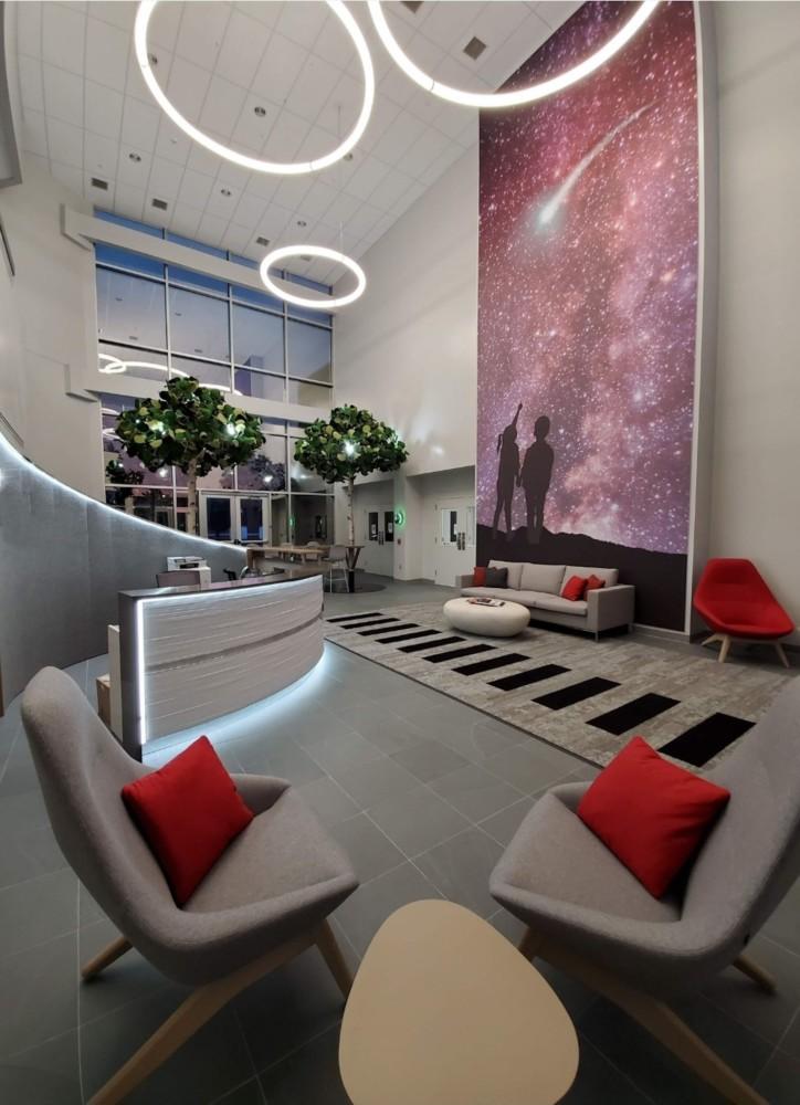 Rocket Lobby and art