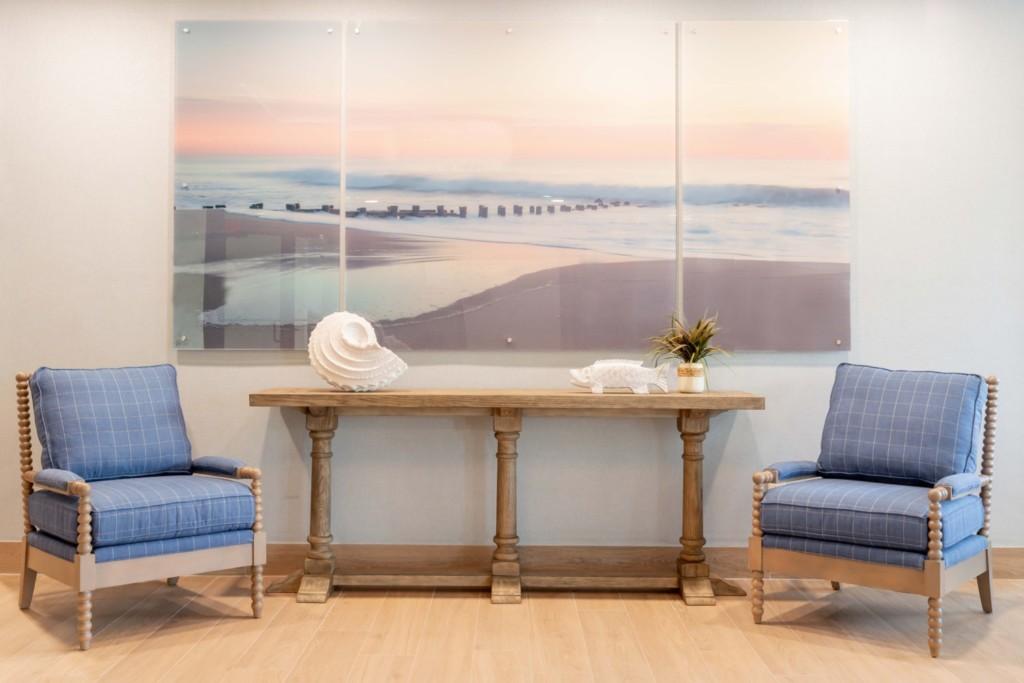 Ocean Place Acrylic Art