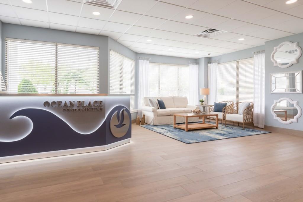 Ocean Place Condos New Lobby