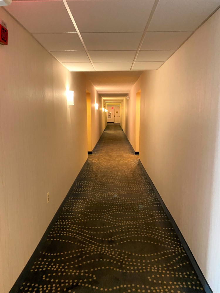 Prior Ocean Place Condo hall carpets